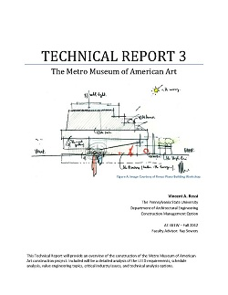 engineering thesis report