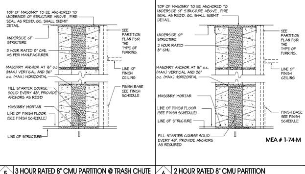 Untitled document One hour fire rated exterior wall assembly