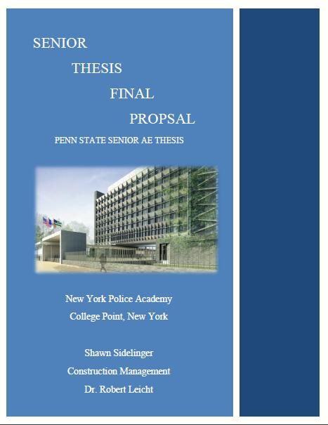 system analysis and design thesis proposal