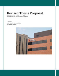 Proposal Justin Kovach S Ae Thesis