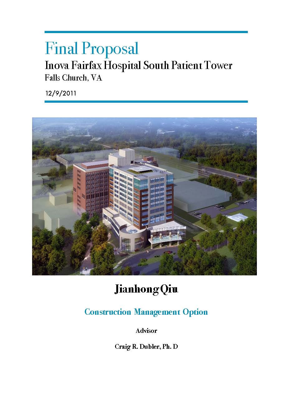 hospital thesis proposal