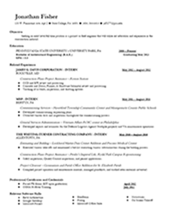 Dissertation abstract in cv