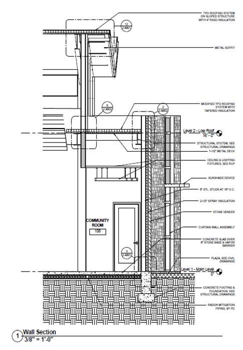 Metal Curtain Wall Details : Untitled document engr psu