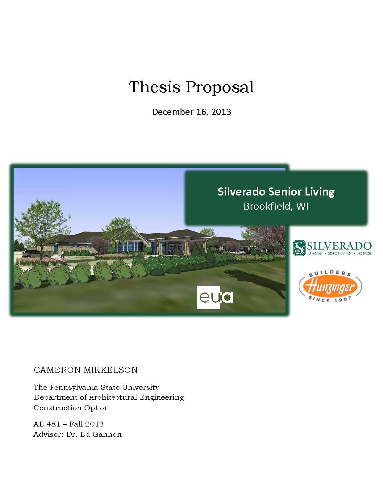 Construction management dissertation proposal
