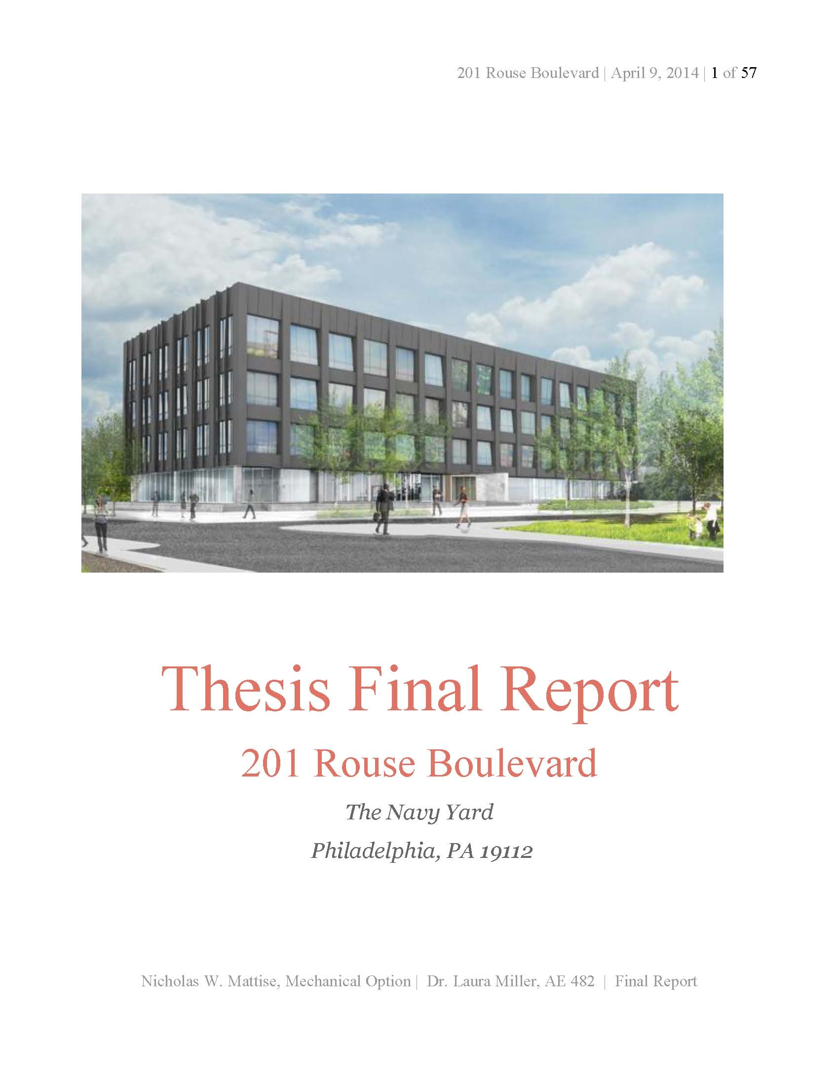 Thesis reports