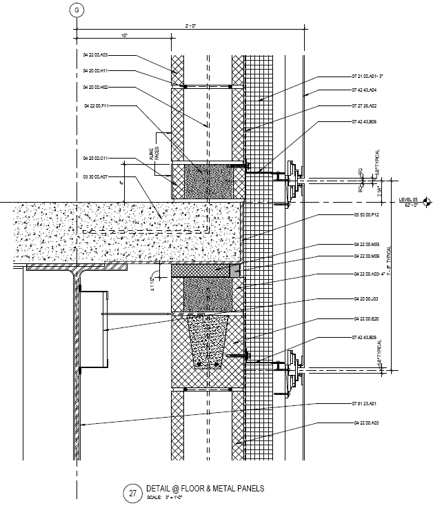 Figure 4 Panel Wall Section Courtesy Of Smithgroupjjr