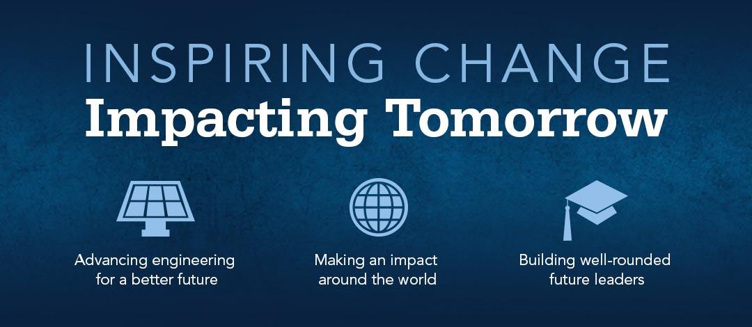 Penn State Engineering: Inspiring Change, Impacting Tomorrow
