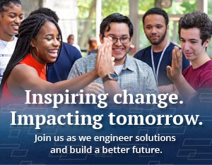 Inspiring change. Impacting tomorrow. Join us as we engineer solutions and build a better future