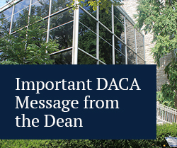 important daca message from the dean
